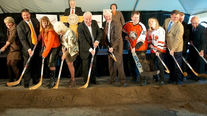 New Chapter For RIT Hockey Begins With Construction of Gene