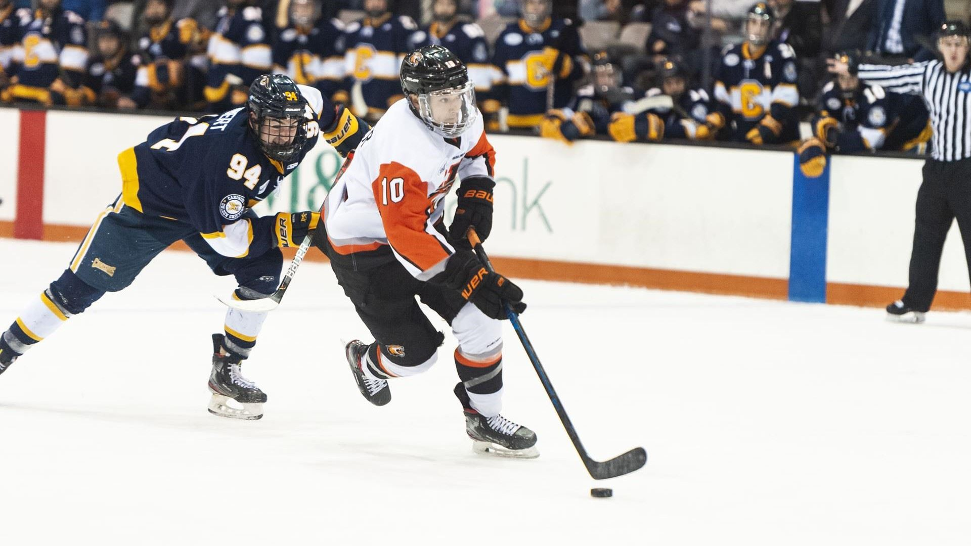 RIT scores four-unanswered to earn 5-4 comeback win over Canisius