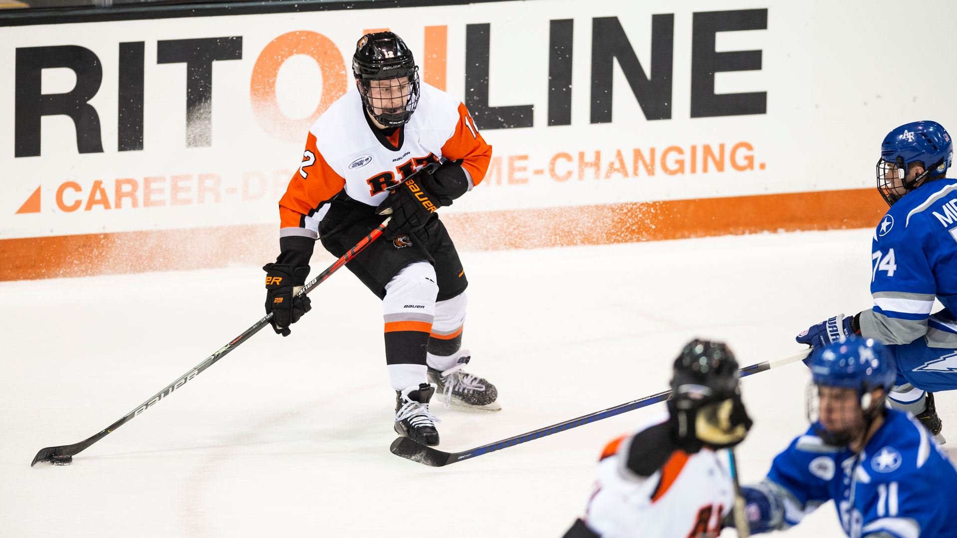 RIT falls to Air Force, 3-0